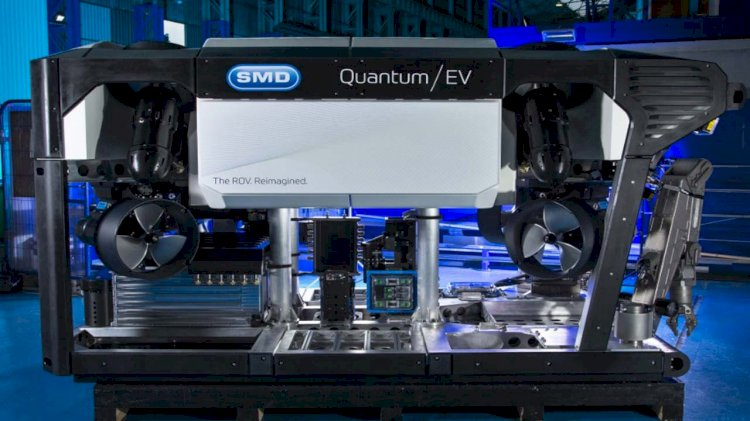 SMD prepares to reveal its field test ready electric Quantum EV ROV