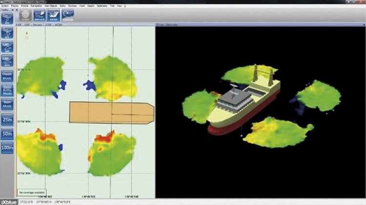 iXblue launches new sonar for high-precision marine works