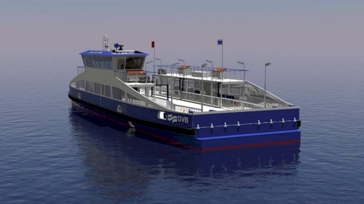 Holland Shipyards Group to supply five fully-electric ferries to GVB