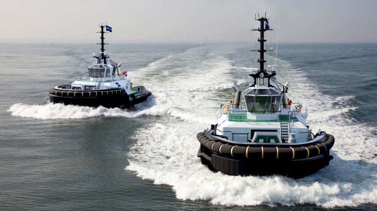 Forth Ports places order for next generation Damen's tug