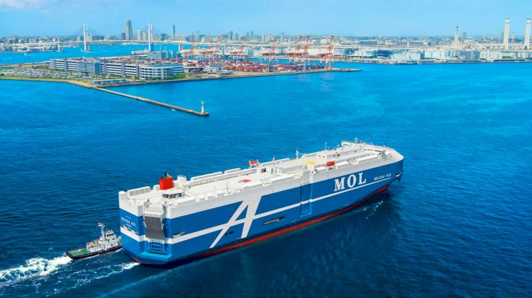 MOL launches trial of monitoring service for auxiliary marine machinery