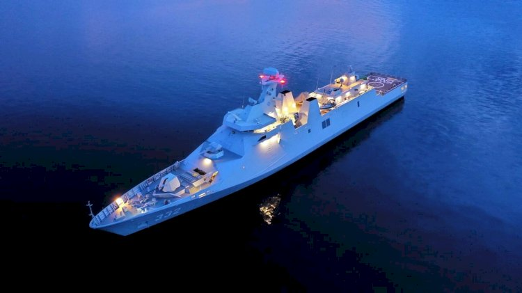 Damen completes combat systems installation on Indonesian frigate