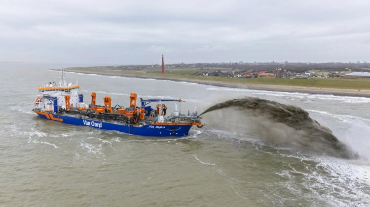 New Van Oord's dredger started its first project