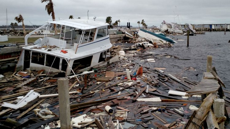Big grants for disposal of marine debris that was caused by hurricanes