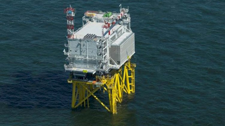 TenneT's offshore power socket ready for sea voyage to Borssele