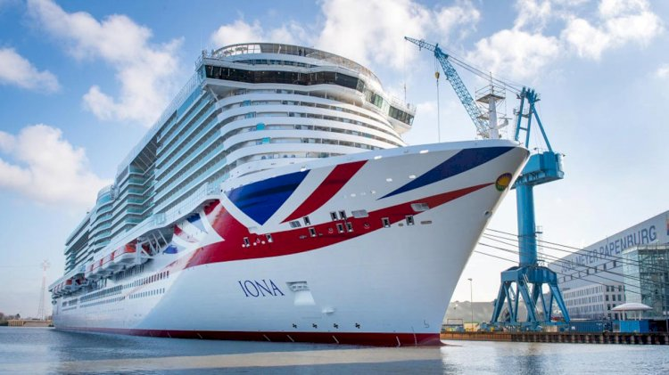 VIDEO: MEYER WERFT's 50th cruise ship leaves Papenburg
