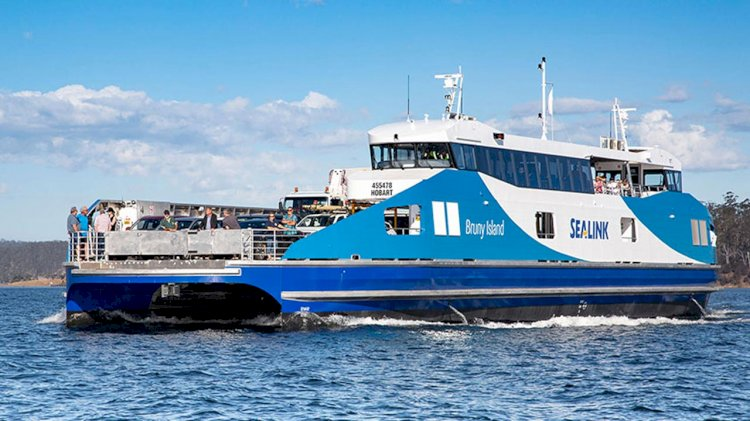 New double-ended ro-pax ferry for operation in Tasmania
