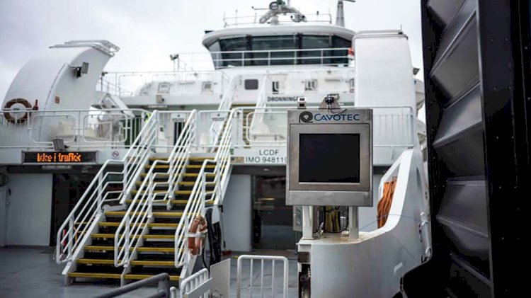 Cavotec to equip two berths with its APS for charging of e-ferries