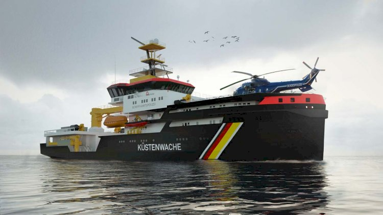Rolls-Royce's innovative propulsion system for new multi-purpose vessels