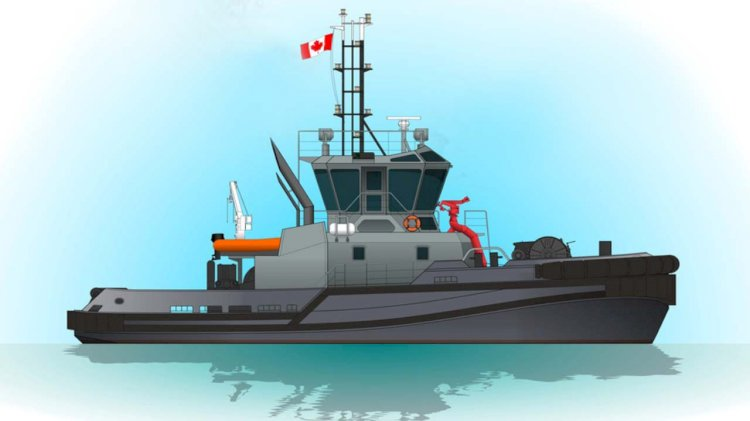 Royal Canadian Navy orders four new tugs
