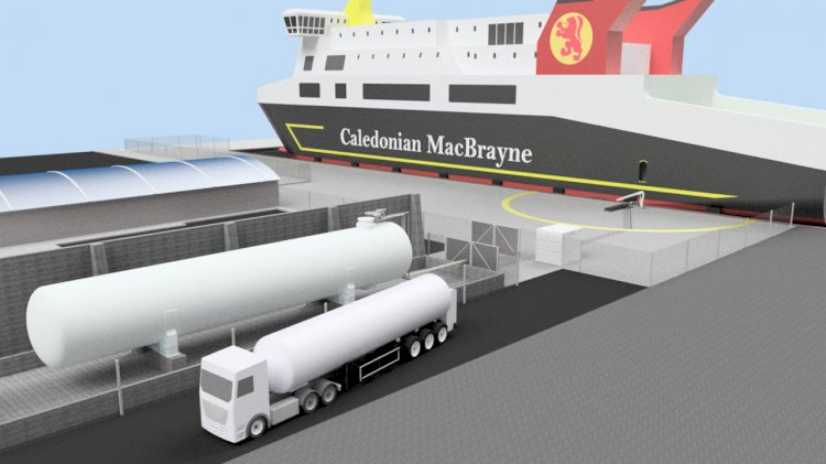 Scotland's first LNG bunkering facilities