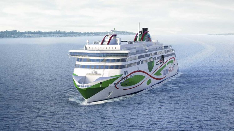 Tallink Grupp's newest eco-friendly LNG-powered shuttle ferry