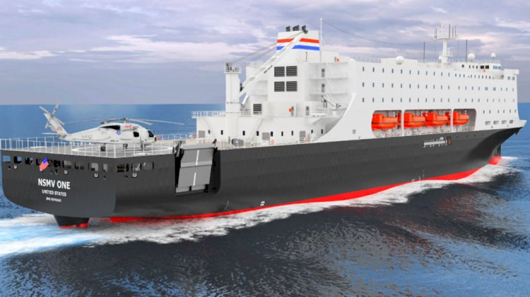 TOTE Services announces contract to construct new training vessels