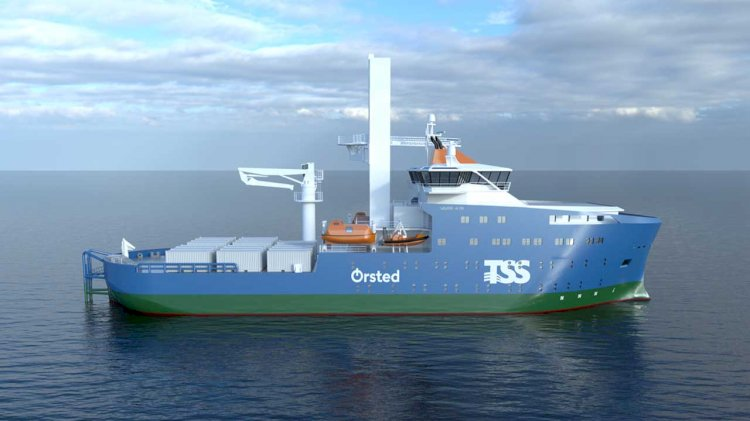 Ørsted signs long-term vessel contract for taiwanese offshore wind farms