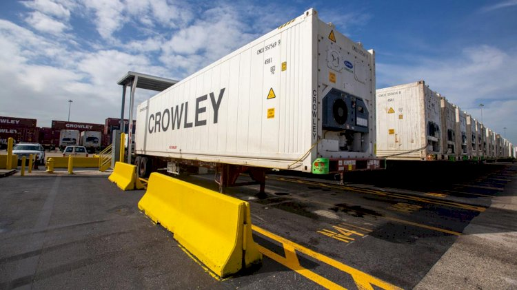 Crowley expands reefer cargo capabilities with new USDA inspection dock