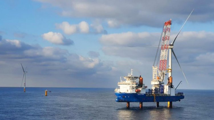 Belgian offshore wind farm completed