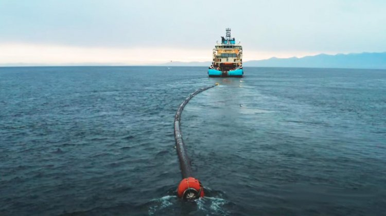 VIDEO: System 002 is a fully operational Ocean Cleanup System