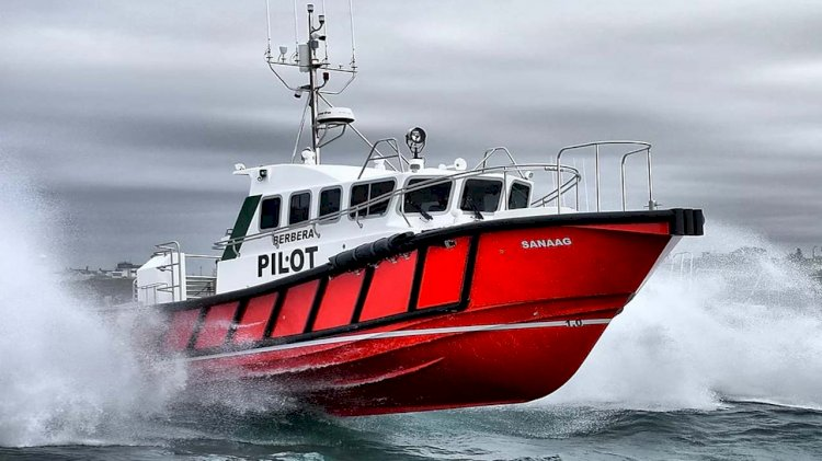 New Pilot boat for the Port of Berbera delivered by Safehaven Marine