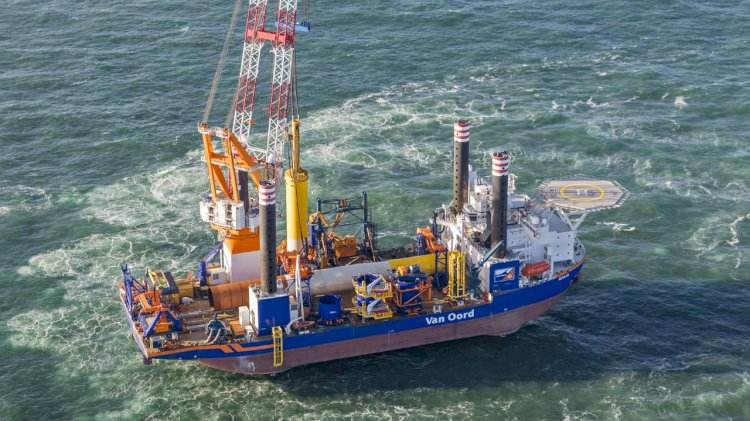 Last foundations for Dutch offshore wind farm installed successfully