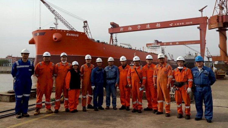 Launching of fifth CLEANBU vessel MV Bangus