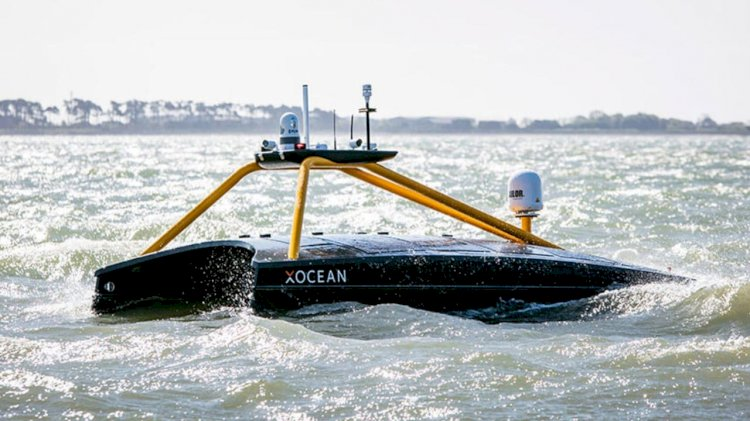 Pioneering live seabed-to-shore data harvesting mission using an USV
