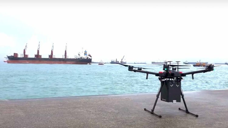 F-drones completes its first commercial BVLOS drone delivery in Singapore
