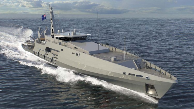Biggest contract for Australian vessels in Austal's history