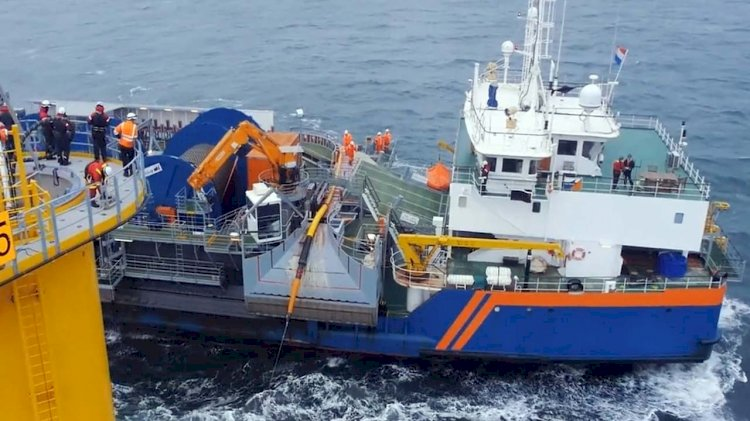 Ailes Marines selects Van Oord for works at Saint-Brieuc Offshore Wind Farm