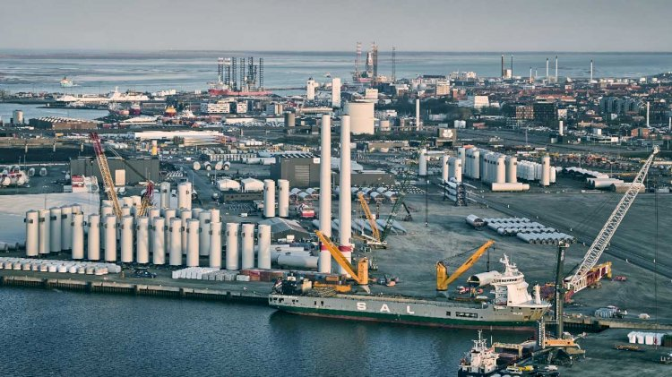 Infranode prepares a billion-kroner green investment in the port of Esbjerg
