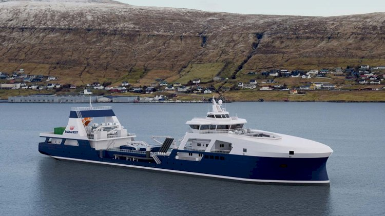 Bakkafrost orders new hybrid 7000 m3 wellboat