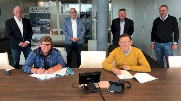 New deep suction dredger for Hoftijzer BV