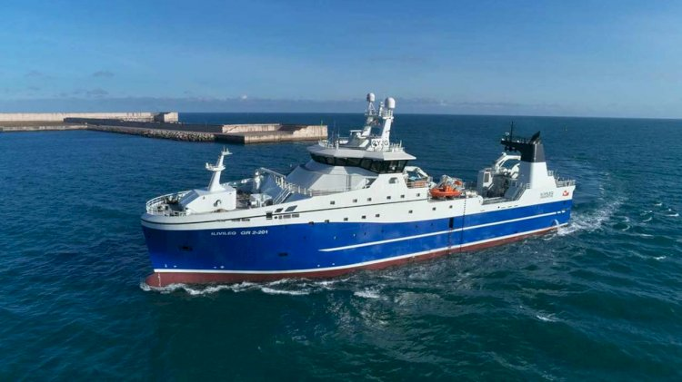 New Kongsberg-designed freezer trawler is ready to commence service in Arctic