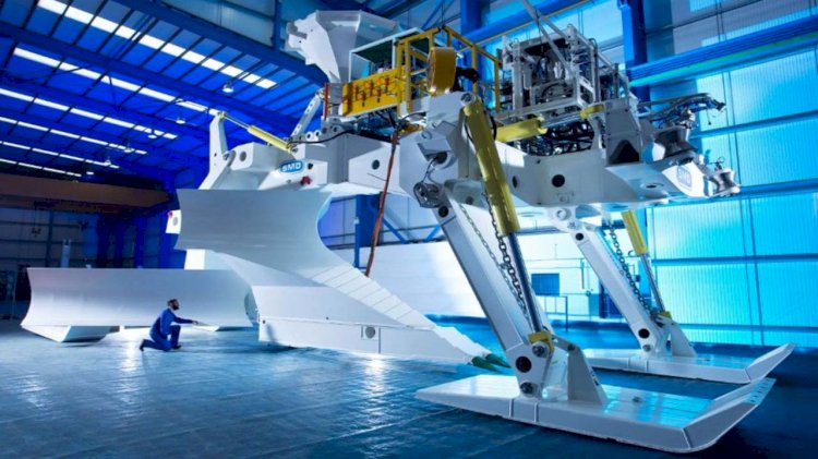 SMD's Megalodon for use at Ørsted's offshore wind farm