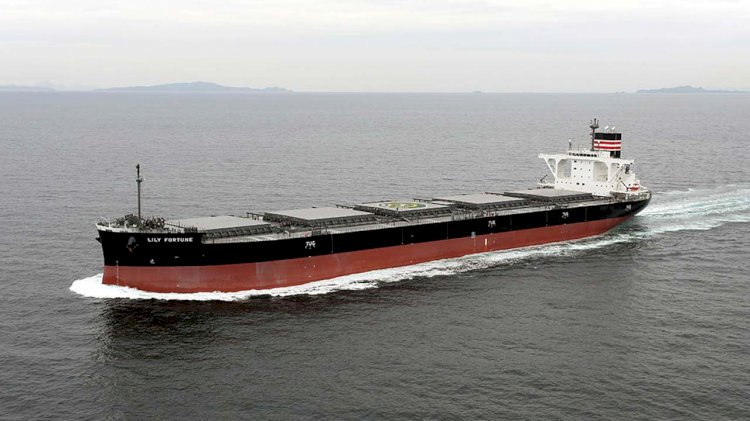Third generation coal carrier enters service for Tohoku Electric Power