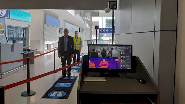 Portsmouth Port prepares for passengers with temperature screening technology