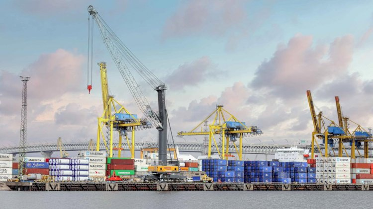 Global Ports Introduces a new Mobile Harbour Crane to PLP