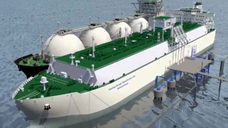 MOL and LTW sign a contract to build and charter an LNG terminal ship