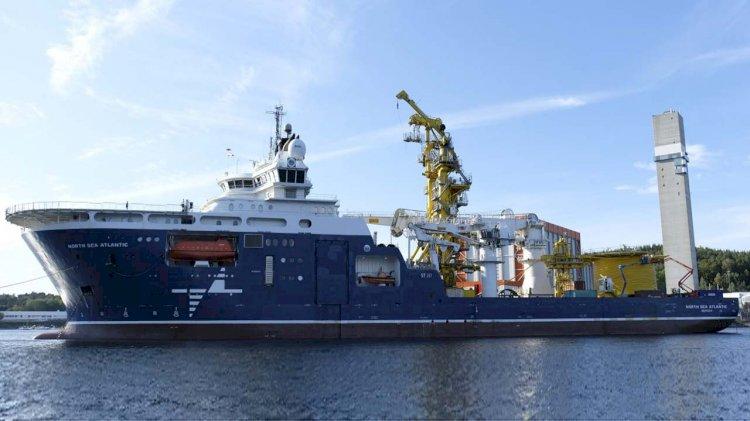 One person injured on board the vessel North Sea Atlantic