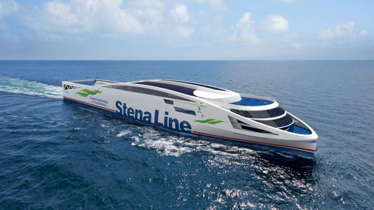 Stena Line reduces CO2 emissions