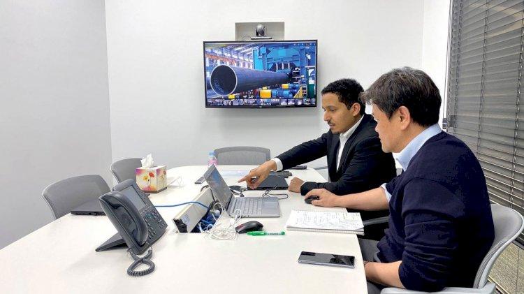"Aramco Asia deployes  the ""smart helmet"" technology"