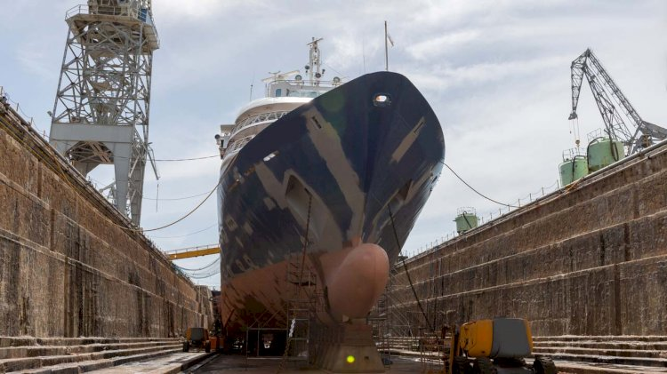 SGMF publishes guidelines for the safe dry docking of vessels that use gas as fuel