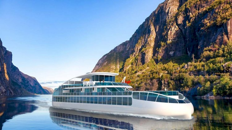 Havyard designed a new zero-emission sightseeing vessel