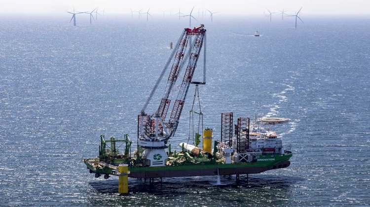 Ørsted and DEME Offshore complete installation of Borssele 1&2 foundations