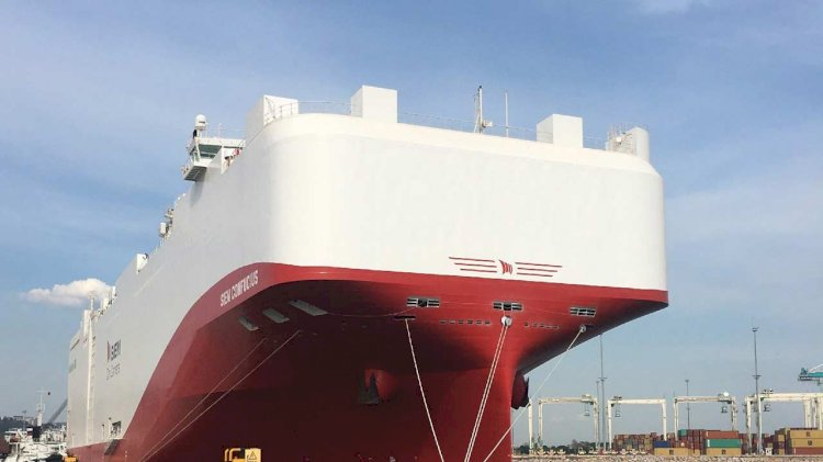 World's largest super-eco ship completes maiden voyage