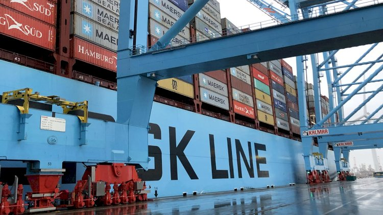 Maersk's AE19 ocean-rail service from Europe to Asia picking up pace