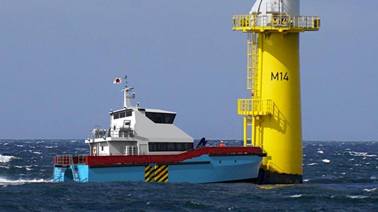 BMT's first design of windfarm support vessel for Japan