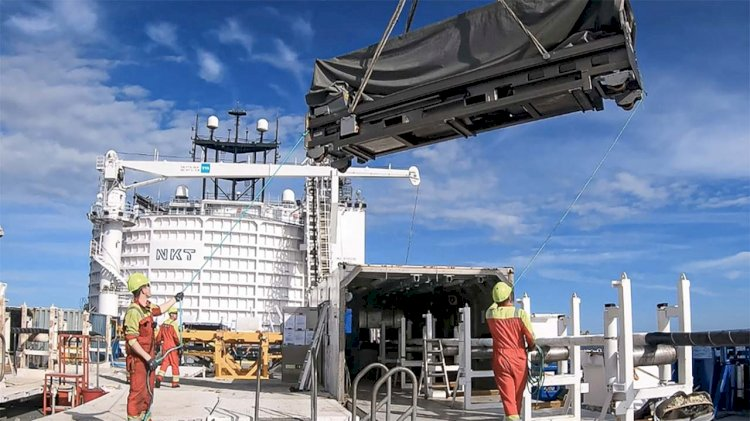 NKT completes repair of the HVDC interconnector Baltic Cable