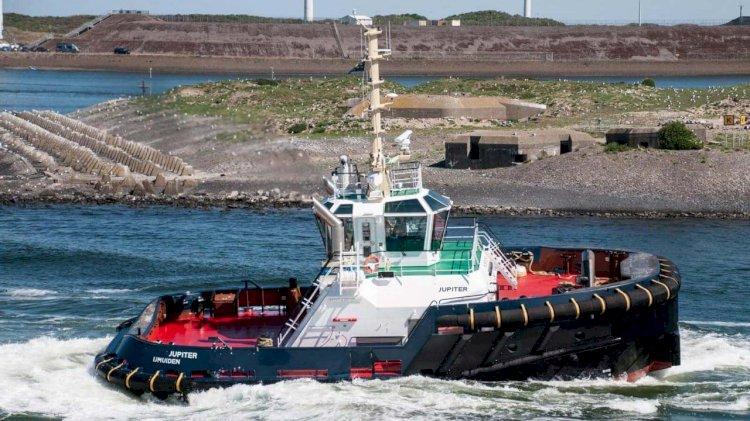 Damen's next generation tug ASD Tug 2312 delivered to Iskes