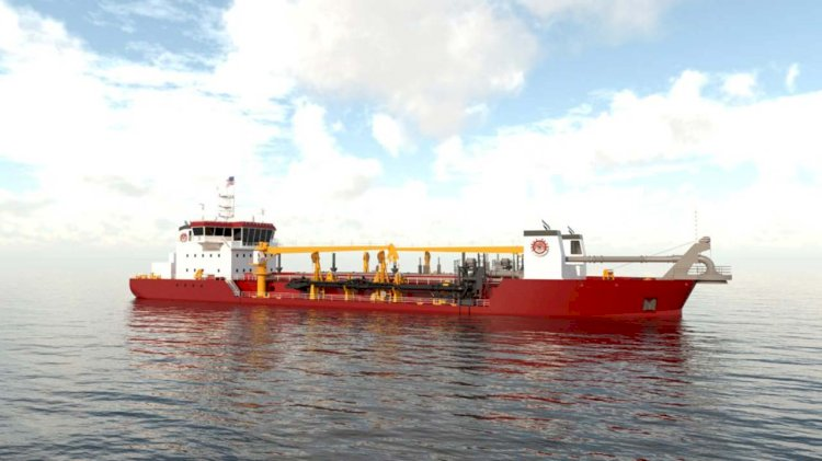 New trailing suction hopper dredger for GLDD