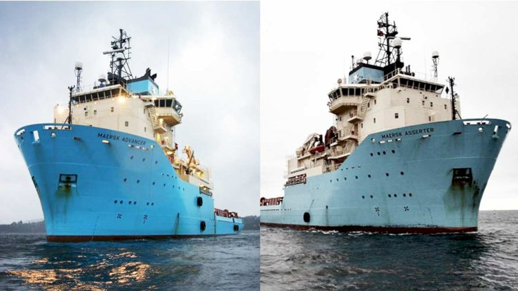 Maersk Supply Service has sold two of its Anchor Handler Tug Supply Vessels
